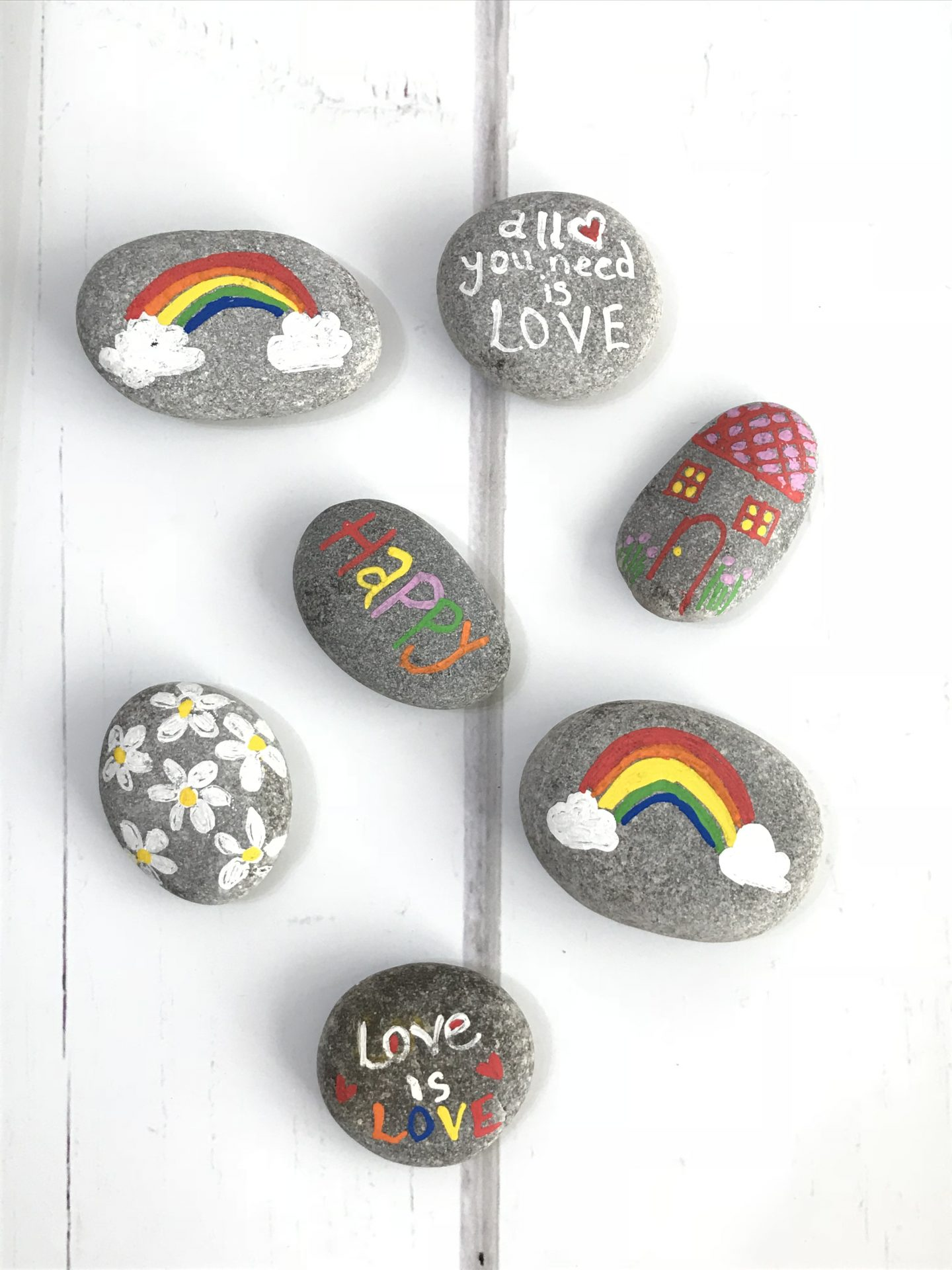 happiness rocks, create your own happy . becky goddard-hill, penny alexander