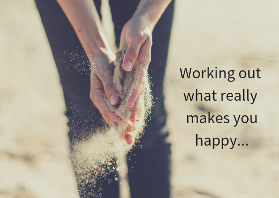 Working out what really makes you happy